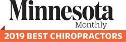 Minnesota Monthly 2019 Best Chiropractors